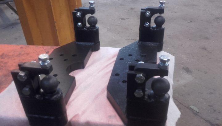 Forstærkning af Kugletræk. Forstærkning af Gaffeltræk. Forstærkning af Liftbom. Forstærkning af Ophæng & beslag til traktor. Forstærkning af Tvangstyringsophæng
